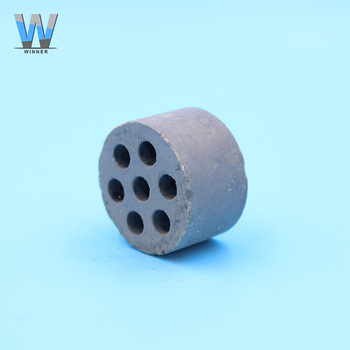 Seven holes cylindrical ceramic nickel catalyst price