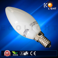 Light! Popular Candle Incandescent Bulb B35 25w 2016 LED Dimmable C37-3/4/5W candle LED bulb light led bulb light