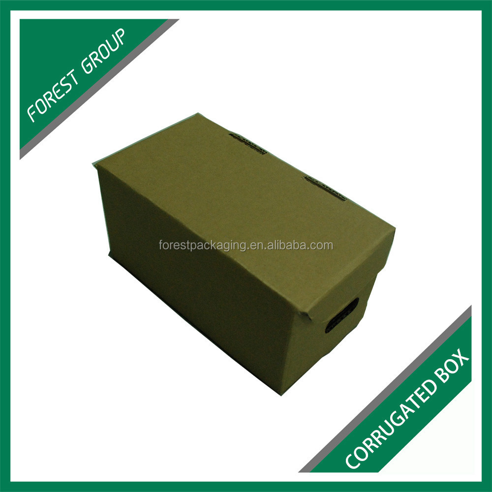 SMALL SIZE FOLDING CORRUGATED BOX FOR BABY SHOES PACKAGING FOR SALE