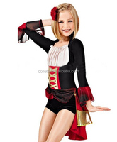 MBP201600-89 Adult black red sexy tailor dance costumes