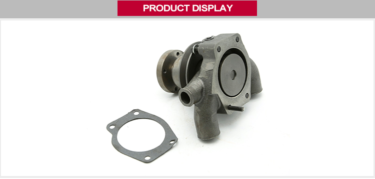 Weltake WMM Brand MF Tractor Cooling System Parts Water Pump With Pulley