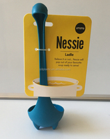 Factory price wholesale personalized kitchen utensil plastic nessie ladle