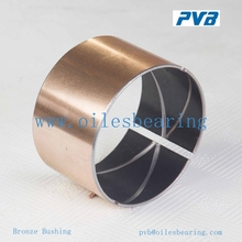 90% export zinc plating customized drawing fast delivery composite brass bronze bearings/bushing/bush
