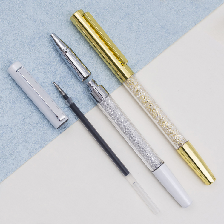 High quality Bling pen with crystal metal crystal pen,crystal ball pen