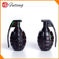 Custom Spice Herb Grinder Hand Grenade with Pin Handle Wholesale