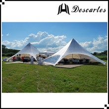 New Zealand single star shelter, pure white star marquee canopy for party/wedding