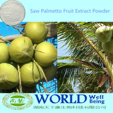 Saw Palmetto Fruit Extract Powder/Saw Palmetto Extract Powder 25%~90% Fatty Acid
