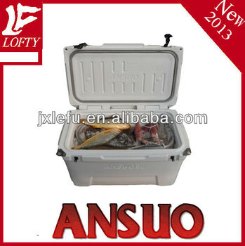 Roto-molded Cooler Box for beer, fish and food