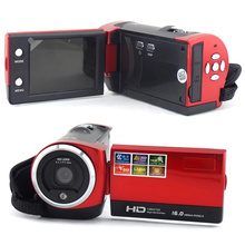 HD Digital Camera Video Camcorder 16mp With Monitor screen 2.7 inch LCD 16X digital zoom With 270 degree rotation DV-C6