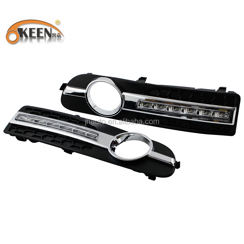 High Power Led Car DRL Light Daytime Running Light with Turn Signal Function for Volvo Head fog lamp