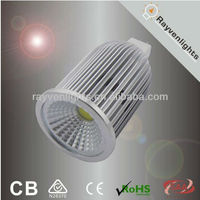 SAA CE Dimmable 12V MR16 LED COB SPOTLIGHT 8W can Replace 50W Halogen lamp