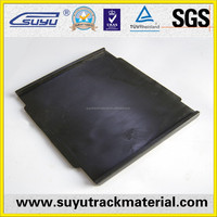 Suyu railway rubber pads used railroad crossing
