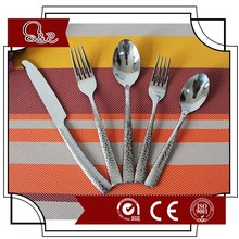 stainless steel metal spork flatware