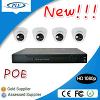 Alibaba best sellers! 4Channel POE Indoor 1080P HD IP complete cctv kit camera ip camera home security system