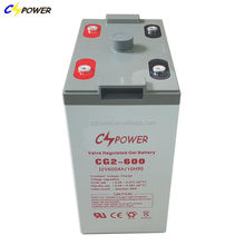 Popular 2v 600ah mf rechargeable deep cycle sealed gel battery for ups