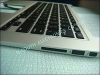 Brand new laptop top case plamrest for apple macbook air 13 1369 2011with keyboard us silver without touchpad