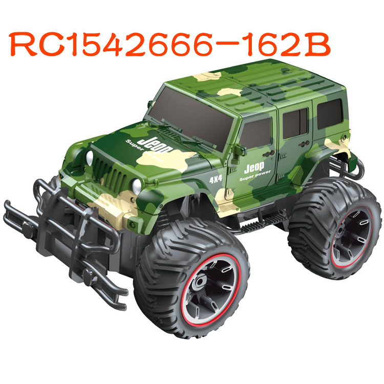 Kids camouflage toy rc off road army jeep for sale RC1542666-162B