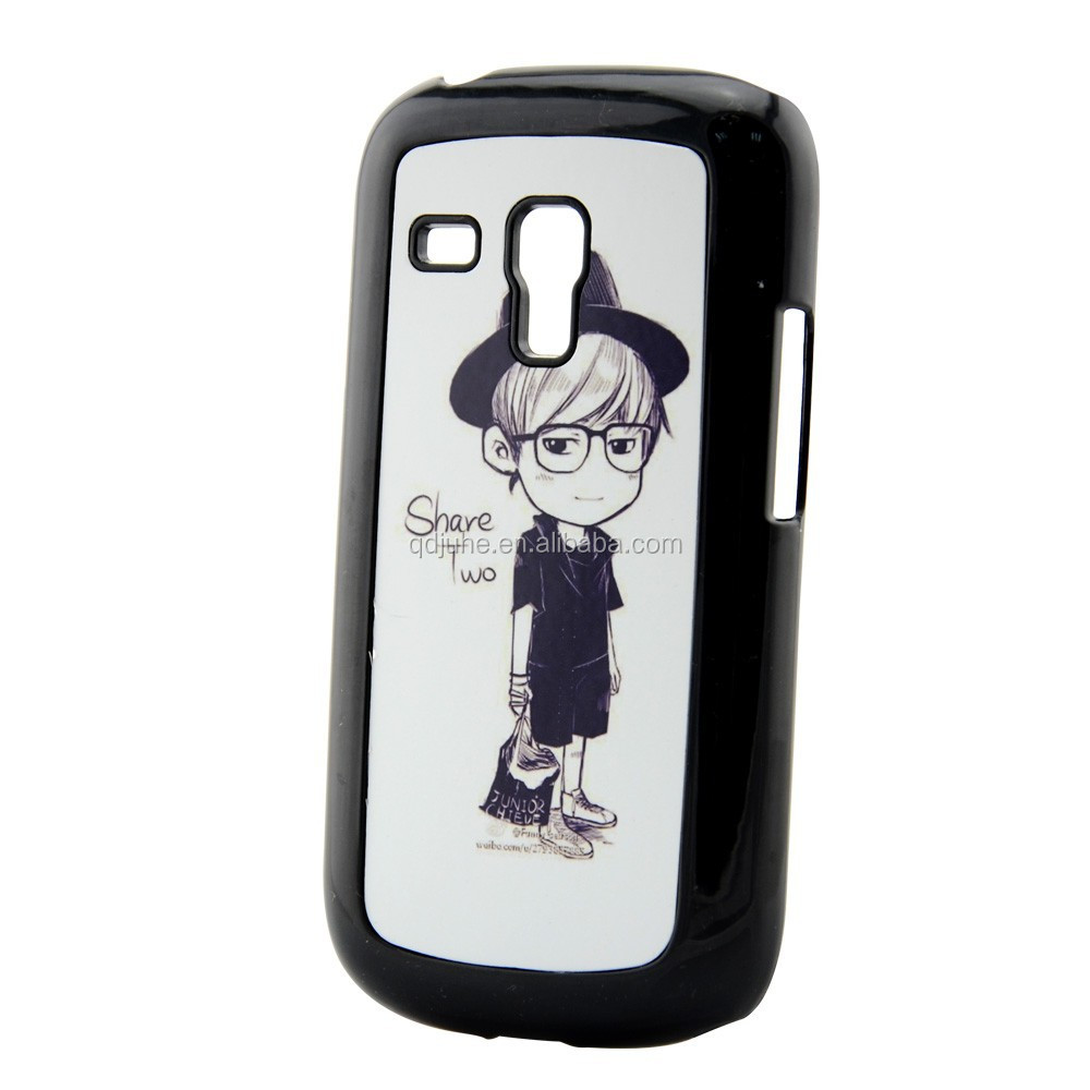 Sublimation PC cell phone case for Samsung Galaxy S3 mini