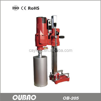 OUBAO OB-205 205mm Vertical Diamond Concrete Core Drilling machine