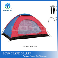 hot sale 2 person single layer ultra light waterproof camping hiking tent