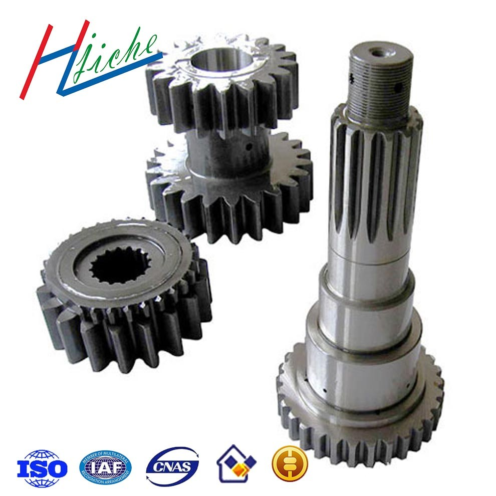 Precision customized steel and iron machinery CNC machining parts with grinding milling bending processing