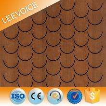 Customized Wooden Pattern Ceiling Panels Building Material acoustic Wall Panel