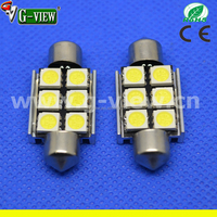 super cheap auto led light c5w 5050 6smd car festoon canbus led 36mm
