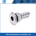 Stainless Steel 3/4 Inch Barbed Boat Thru Hull Connector