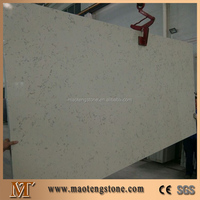 Artificial Engineered Quartz Man made stone Slab for countertop,tile