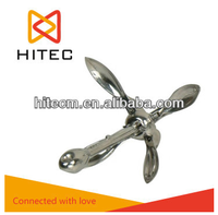 CHINA SUPPLIER Boat anchor manufactures, malleable steel, hot dip galvanized folding anchor type a