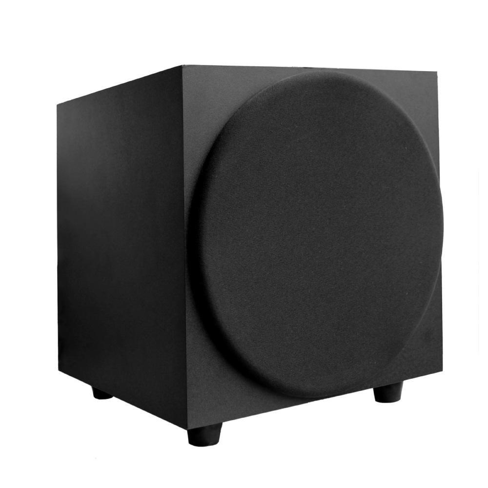 Active Closed -box 100W 10 Powered DJ Subwoofers for Home Theater and Stereo Subwoofer
