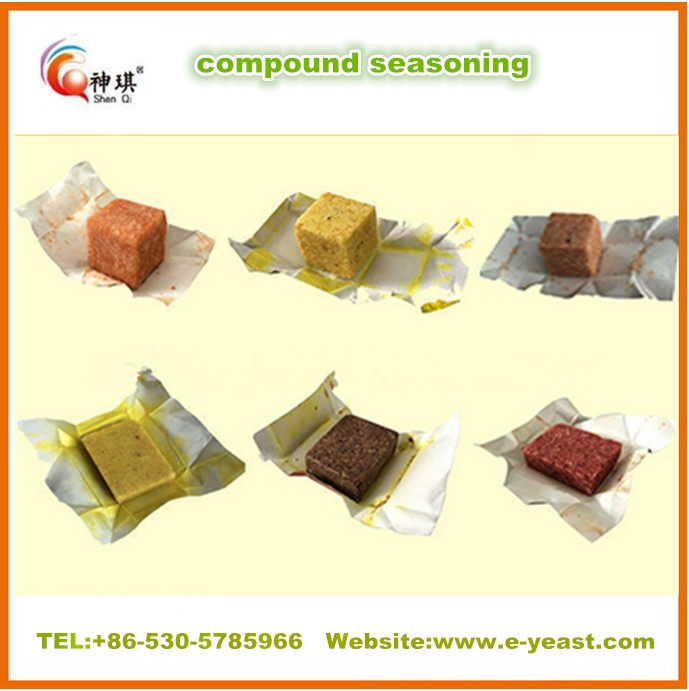 Super quality 4g 10g 15g 17g Seasoning cube powder for instant noodle soup powder and bouillon cube/powder supplier from China