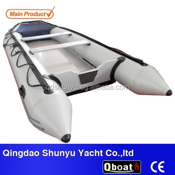 CE 2015 15.5ft 10 passengers folding funny inflatable boat for sale