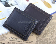 High quality promotional Genuine leather Men Fashion and casual gents wallet