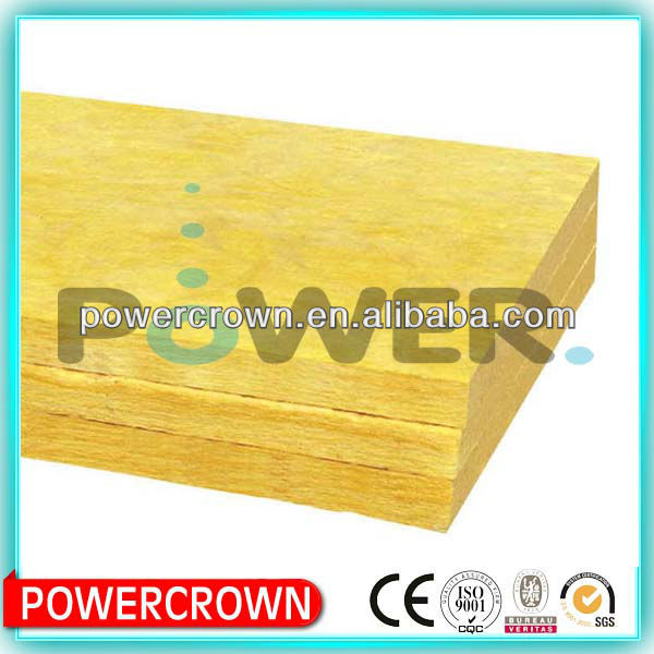 Glass wool acoustic insulation blanket building materials