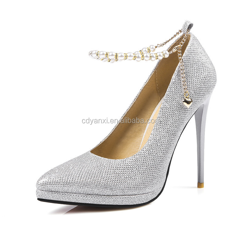 Fashion Women New Style Pointed Toes High Heel Dress Shoes, Sexy Ladies Girls High Heel Simple Shoes Wholesale