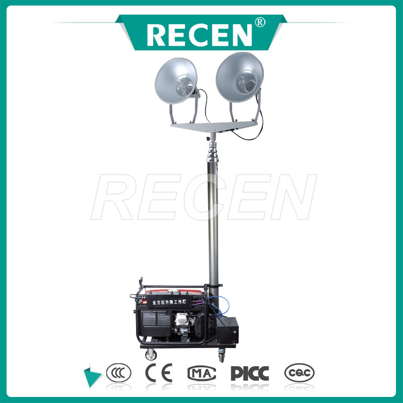 Multy-type portable lighting tower made in China