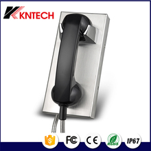 KNTECH no keypad phone KNZD-14 Auto dial telephone for jail wall mount telephone set