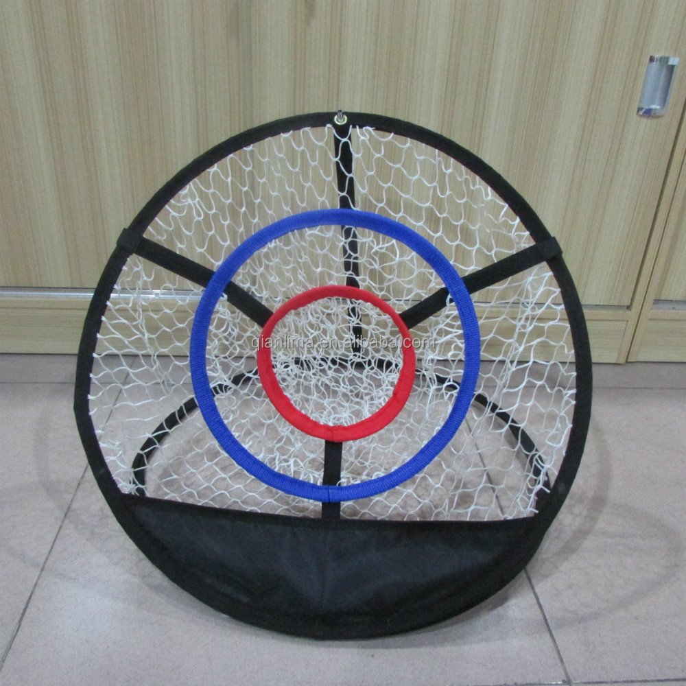 Portable Pop up Golf Chipping Pitching Practice Net Training Aid Tool