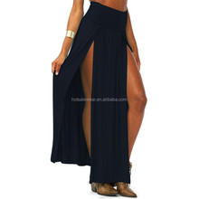 2015 Sexy High Waisted Long Skirt With Slit PW-FZ-18579