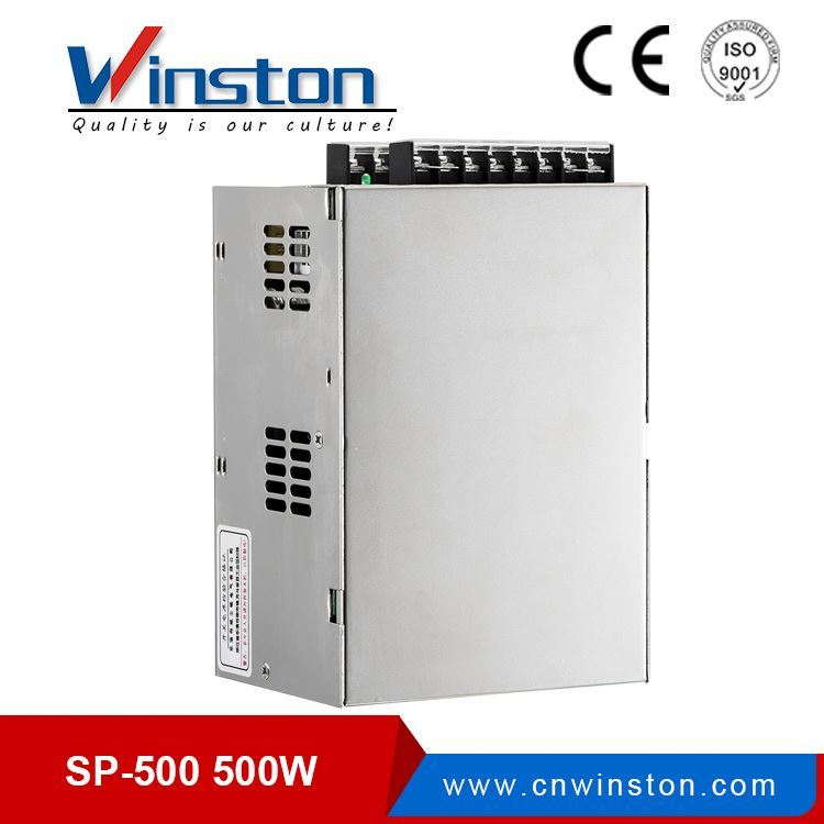 CE ROHS SP-500-15 500W 15V Single Output With PFC Power Supply