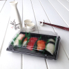 Clear lid fancy packaging sushi boxes