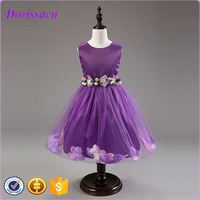 latest fashion one piece girls party dresses elegant christening dress baby clothes