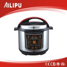 2016 Ailipu brand New Hot Sale Electric Multi Cooker with IMD panel LED display touch push switch
