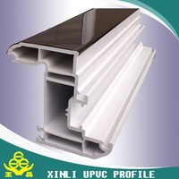 customized pvc profile upvc window profile for plastic window and door in high quality
