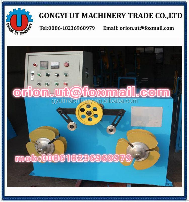 wire respooling machine