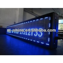 Single color outdoor P10 single bule led display/screen/signboard
