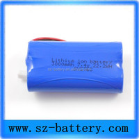 2015 wholesale mechanical mod e cig battery 7.4v 18650 battery