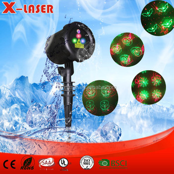 Wireless Remote Control outdoor Night Star Christmas laser Lights Party Holiday