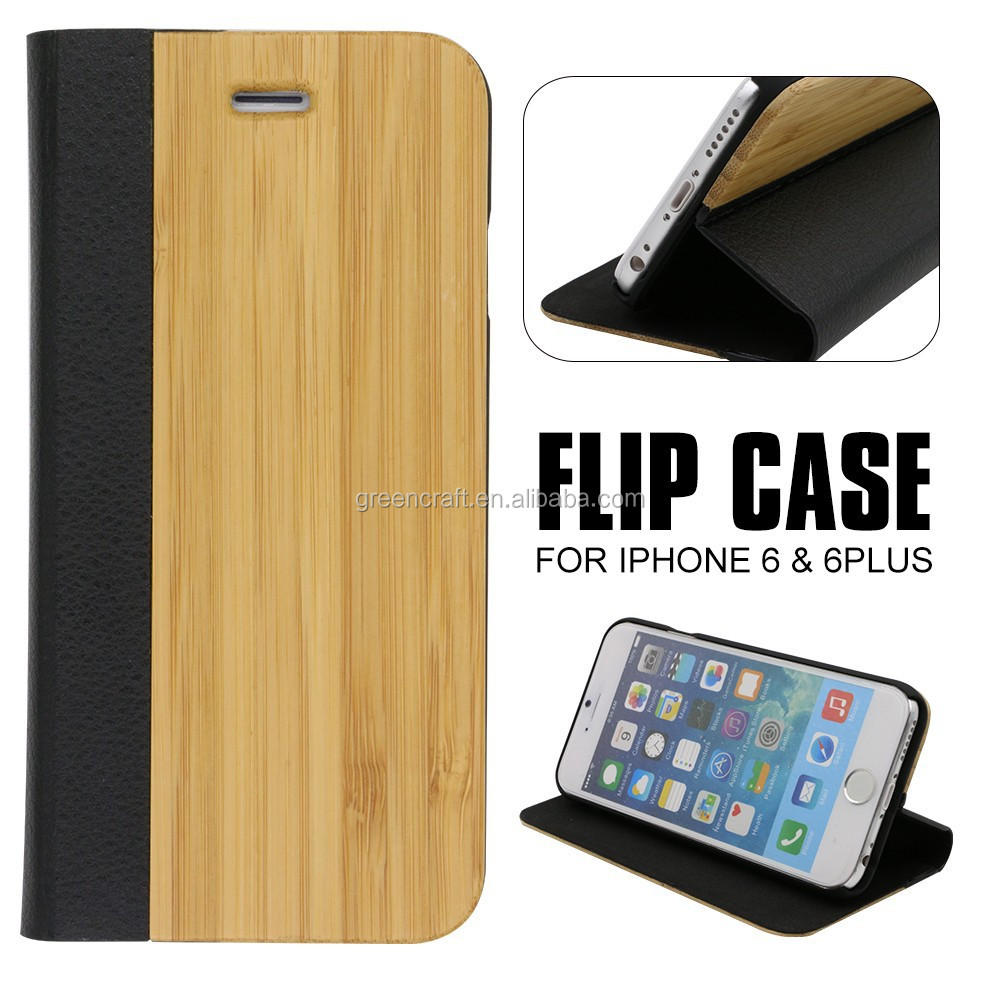 Wood Bamboo Front And Back Cover For Iphone 5